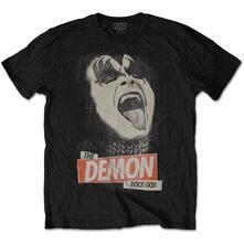T-Shirt Unisex Tg. M Kiss. The Demon Rock