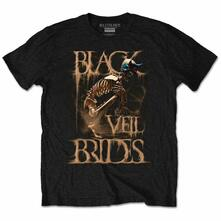 Black Veil Brides Men'S Tee: Dust Mask Retail Pack Small