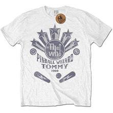 T-Shirt Unisex Tg. S. Who: Pinball Wizard Flippers