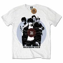 The Who Men'S Tee: Maximum R&B Retail Pack Large
