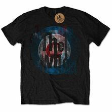 The Who Men'S Tee: Target Texture Retail Pack X-Large
