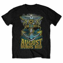 August Burns Red Men'S Tee: Dove Anchor Retail Pack Small