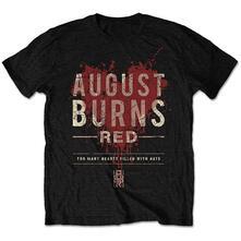 August Burns Red Men'S Tee: Hearts Filled Retail Pack Medium