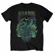 As I Lay Dying Men'S Tee: Cobra Retail Pack Large