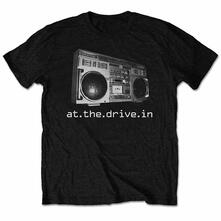 At The Drive In Men'S Tee: Boombox Retail Pack Medium