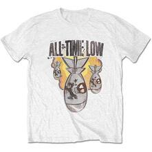 T-Shirt Unisex Tg. 2XL. All Time Low: Da Bomb