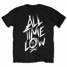 All Time Low Men'S Tee: Scratch Retail Pack Large