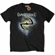 Evanescence Men'S Tee: Classic Logo Retail Pack Large