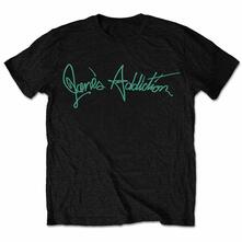Small. Janes Addiction Mens Tee: Script