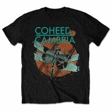 Coheed & Cambria Men'S Tee: Dragonfly Retail Pack Small