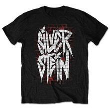 Xx-Large. Silverstein Mens Tee: Graffiti