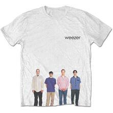 T-Shirt Unisex Tg. M. Weezer - Blue Album