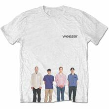 T-Shirt Unisex Tg. L. Weezer - Blue Album