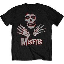 Misfits Men'S Tee: Hands Retail Pack Large