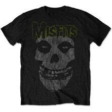 Misfits Men'S Tee: Classic Vintage Retail Pack Large