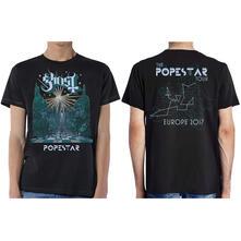 T-Shirt Unisex Tg. XL. Ghost Lightbringer Popestar Tour Europe 2017