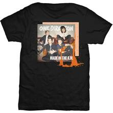 T-Shirt Unisex Tg. L. One Direction Made In The A.M.