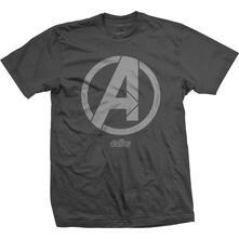 T-Shirt Unisex Tg. L Marvel Comics. Avengers Infinity War A Icon