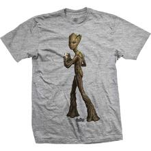 T-Shirt Unisex Tg. L Marvel Comics. Avengers Infinity War Teen Groot Colour