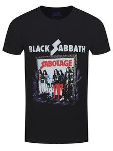 T-Shirt Unisex Tg. 2XL Black Sabbath. Sabotage Vintage