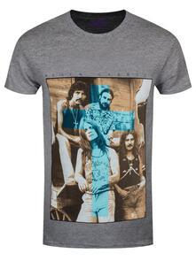 T-Shirt Unisex Tg. L Black Sabbath. Blue Cross