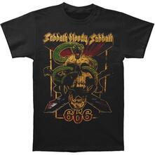 T-Shirt Unisex Tg. M Black Sabbath. Bloody Sabbath 666