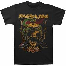 T-Shirt Unisex Tg. 2XL Black Sabbath. Bloody Sabbath 666