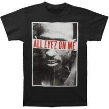 Large Tupac Men'S Tee: All Eyez
