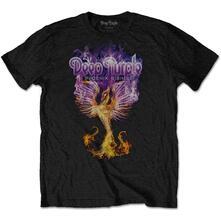 Xx-Large Deep Purple Men'S Tee: Phoenix Rising