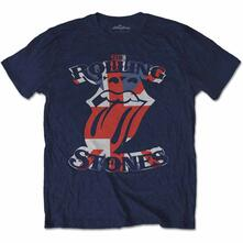 Xx-Large The Rolling Stones Men'S Tee: British Flag Tongue
