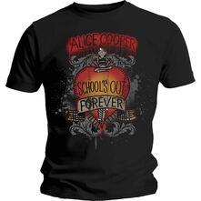 T-Shirt Unisex Alice Cooper. Schools Out Dagger. Taglia S