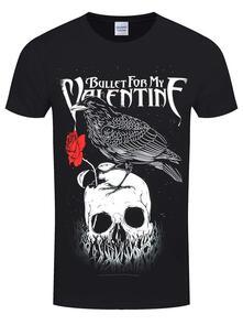 T-Shirt Unisex Bullet For My Valentine. Raven. Taglia M