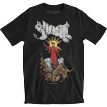 T-Shirt Unisex Ghost. Plague Bringer. Taglia 2XL