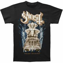T-Shirt Unisex Ghost. Ceremony & Devotion. Taglia M