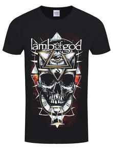 T-Shirt Unisex Lamb Of God. All Seeing Red. Taglia XL