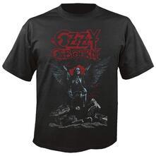 T-Shirt Unisex Ozzy Osbourne. Angel Wings. Taglia M