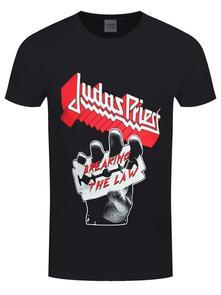 T-Shirt Unisex Judas Priest. Breaking The Law. Taglia XL