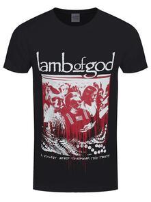T-Shirt Unisex Lamb Of God. Enough Is Enough. Taglia S