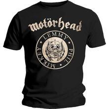 T-Shirt Unisex Motorhead. Undercover Seal Newsprint. Taglia S