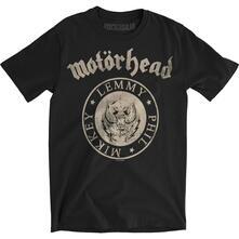 T-Shirt Unisex Motorhead. Undercover Seal Newsprint. Taglia L