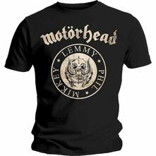 T-Shirt Unisex Motorhead. Undercover Seal Newsprint. Taglia 2XL