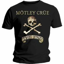 T-Shirt Unisex Motley Crue. The End. Taglia L