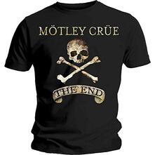 T-Shirt Unisex Motley Crue. The End. Taglia 2XL