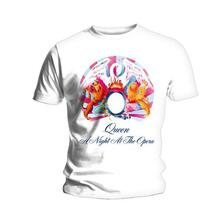 T-Shirt Unisex Tg. 2XL Queen - A Night At The Opera