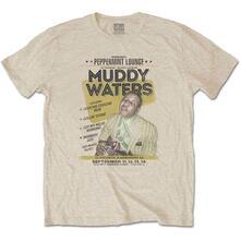 T-Shirt Unisex Muddy Waters. Peppermint Lounge. Taglia XL
