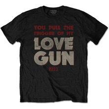 T-Shirt Unisex Kiss. Pull The Trigger. Taglia M