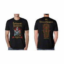 T-Shirt Unisex Hollywood Vampires. Bad As I Am 2018 Dates Back (Ex Tour/Back Print). Taglia S