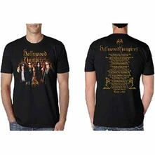 T-Shirt Unisex Hollywood Vampires. Photo Vampires 2018 Dates Back (Ex Tour/Back Print). Taglia M