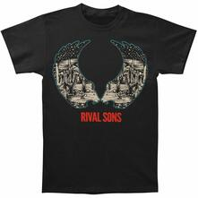 T-Shirt Unisex Tg. S. Rival Sons: Desert Wings