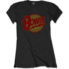 T-Shirt Donna Tg. S. David Bowie: Diamond Dogs Vintage